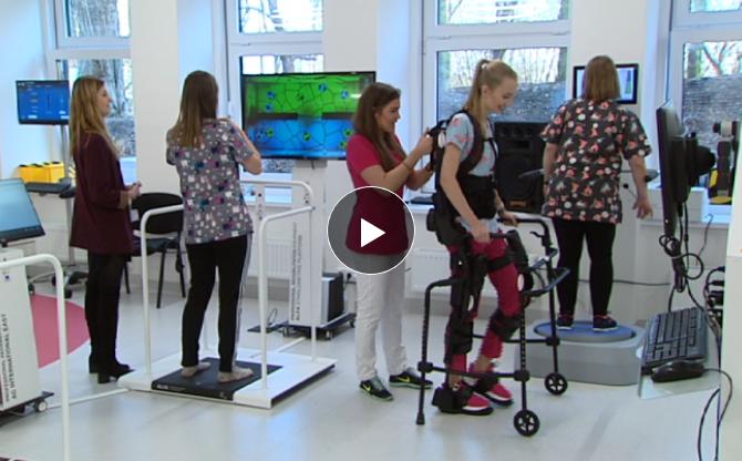 Gry wideo pomogą wrócić do zdrowia. Najnowocześniejsze centrum rehabilitacji dla dzieci otwarte w szpitalu im. W. Degi