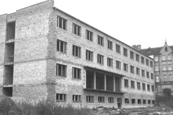 Budowa budynku rehabilitacji