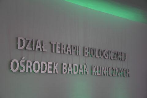 dział terapii biologicznej