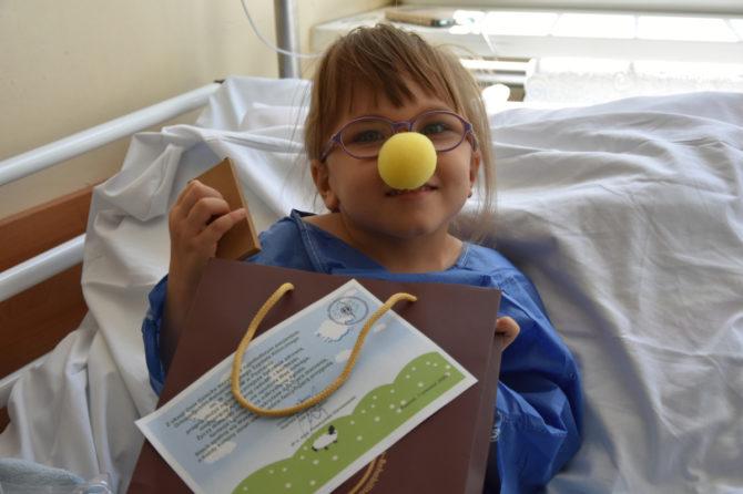 Dzień Dziecka w Ortopedyczno-Rehabilitacyjnym Szpitalu Klinicznym im. W. Degi UM w Poznaniu