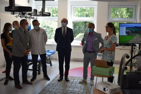 Wizyta władz Krajowej Izby Fizjoterapeutów w Centrum Technologicznie Wspomaganej Rehabilitacji