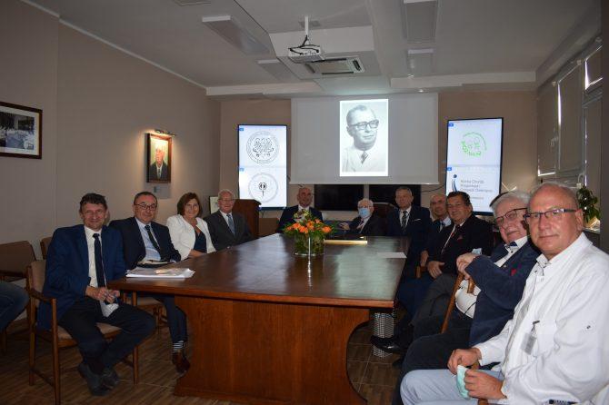Nadanie sali seminaryjnej imienia prof. Witolda Marciniaka