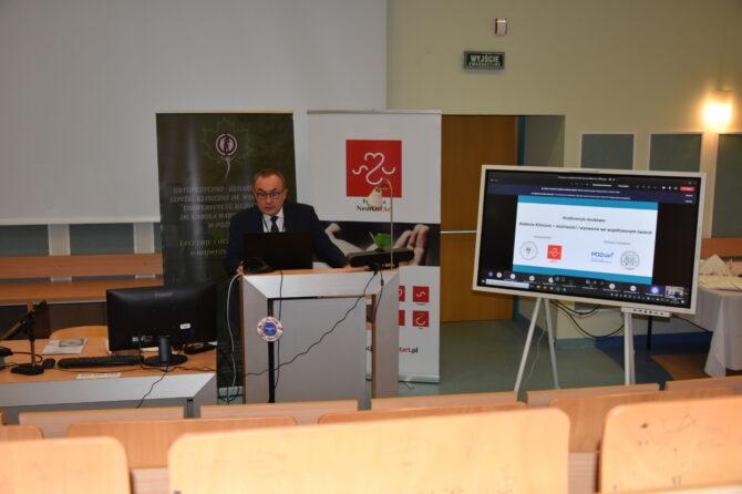 """Druga konferencja naukowa pt. """"Badania kliniczne – możliwości i wyzwania we współczesnym świecie"""""""