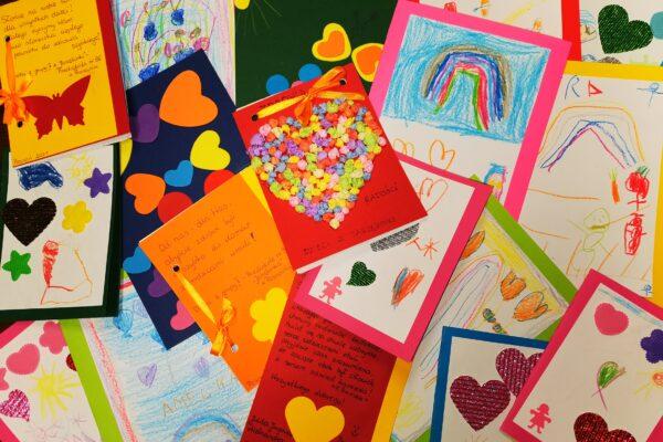 Kartki z życzeniami dla najmłodszych Pacjentów Szpitala