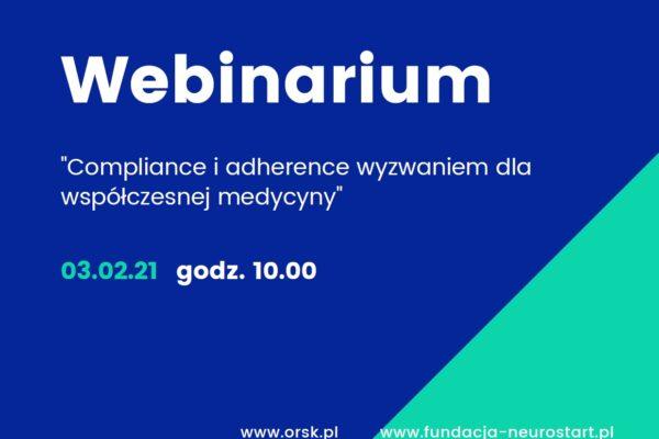 """Konferencja naukowa """"Compliance i adherence wyzwaniem dla współczesnej medycyny"""""""