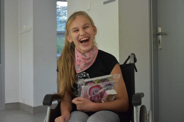 Podarunki dla dzieci leczonych w Ortopedyczno-Rehabilitacyjnym Szpitalu Klinicznym im. W. Degi UM w Poznaniu