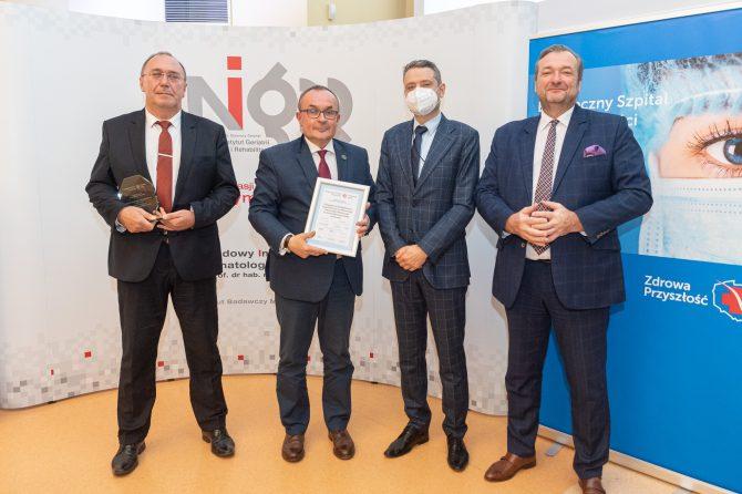 Ortopedyczno-Rehabilitacyjny Szpital Kliniczny im. W Degi UM w Poznaniu inspiruje środowisko medyczne