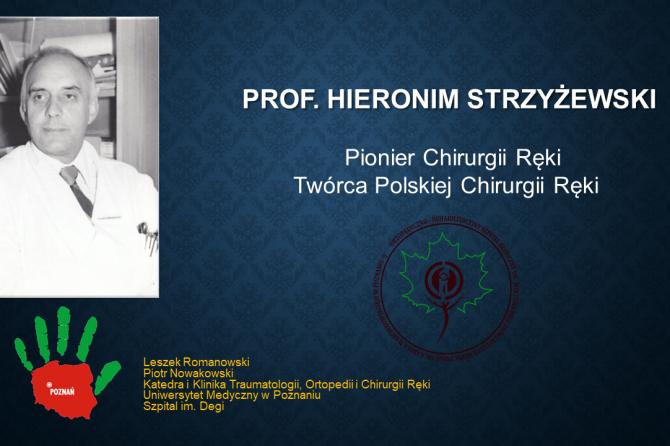 Wspomnienie Profesora Hieronima Strzyżewskiego